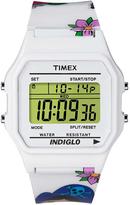 Timex 80 T2N550 Tattoo Case Watch White