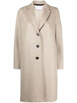 Thumbnail for your product : Harris Wharf London Felted Cashmere Single-Breasted Coat