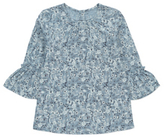 George Floral Print Woven Top