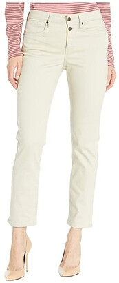 NYDJ Sheri Ankle Jeans with Mock Fly in Feather (Feather) Women's Jeans