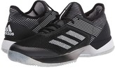 adidas Adizero Ubersonic 3 Clay (Core Black/Footwear White/Core Black) Women's Shoes