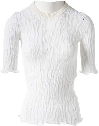 Louis Vuitton \N White Viscose Tops