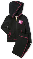 Juicy Couture Newborn/Infant Girls) Two-Piece Logo Hoodie & Jogger Pants Set