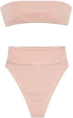Adriana Degreas bandeau high-waisted bikini