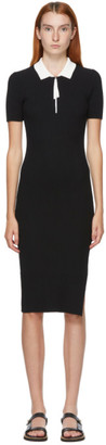 Rag & Bone Black Cadee Polo Dress