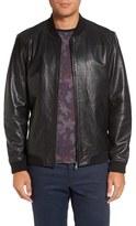 Ted Baker Men's Leather Bomber Jacket