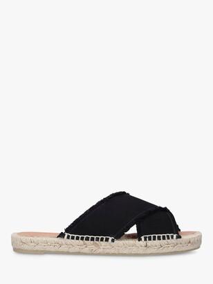 Castaner Palmera Cross Strap Slip On Sandals