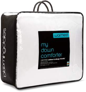 Bloomingdale's My Warmest Asthma & Allergy Friendly Down Comforter, Queen - 100% Exclusive
