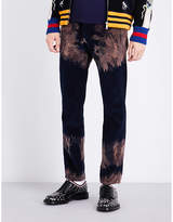 Gucci Bleached Cotton Corduroy Trousers