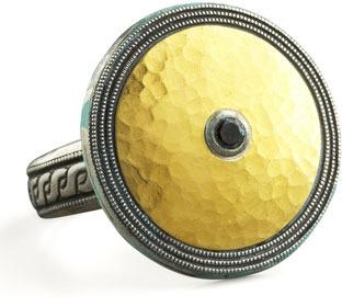 Gurhan Gold & Spinel Shield Ring