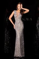 Scala 48569 Dress In Platinum