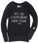 Rebel Yell Girls' 50/50 California/New York Tee - Sizes S-L