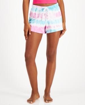 Jenni Lace Up Printed Pajama Shorts