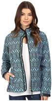 Roper Diamond Aztec Softshell Bomber Jacket