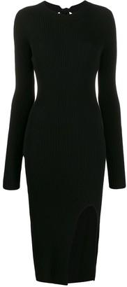 MM6 MAISON MARGIELA Knitted Midi Dress