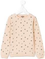 Emile et Ida cherry patterned sweatshirt - kids - Cotton - 4 yrs