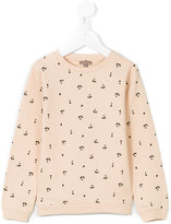 Emile et Ida cherry patterned sweatshirt