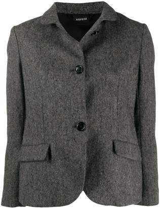 Aspesi fitted wool jacket