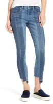Blank NYC Women's Blanknyc Step Hem Skinny Jeans