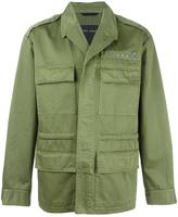Marc Jacobs stud detail military jacket - men - Cotton - 48