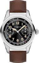 Montblanc 117535 Summit titanium and leather Smartwatch