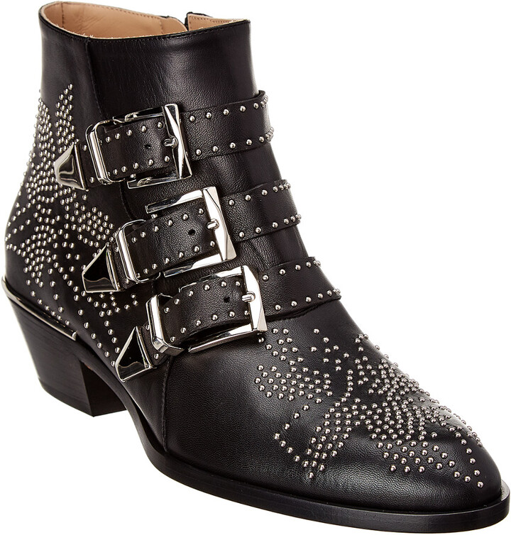 0be71eb5 Susanna Studded Leather Ankle Boot