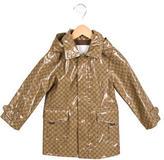 Gucci Girls' GG Rain Coat