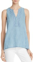 Soft Joie Kerryn Sleeveless Chambray Top