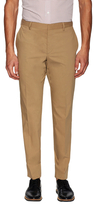 Prada Solid Flat Front Trousers