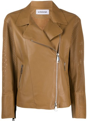 Sylvie Schimmel Perforated Leather Jacket