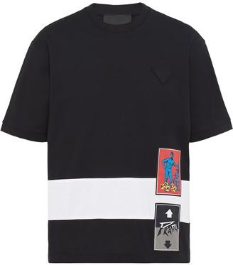 Prada logo print T-shirt