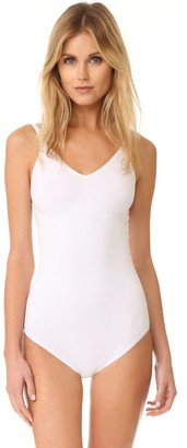 Yummie Women's Conner Seamlessly Shaped Cotton Everyday Convertible Halter Bodysuit