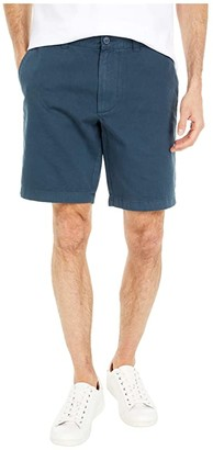 J.Crew 9 Garment-Dyed Chino Shorts (Cove Blue) Men's Shorts