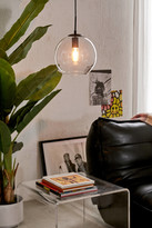 Urban Outfitters Clear Globe Pendant Light