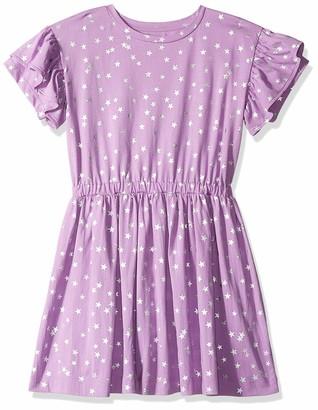 Look by crewcuts Amazon/J. Crew Brand Girl's Ruffle Sleeve Dress