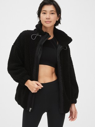 Gap GapFit Full-Zip Teddy Jacket