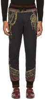Dolce & Gabbana Black Knight Lounge Pants