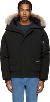 Canada Goose Black Down Chilliwack Coat