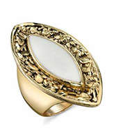 Belle Noel by Kim Kardashian Nugget and Ivory Ring