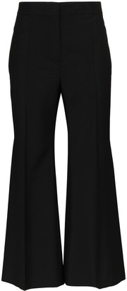 Jil Sander Marcus cropped flared trousers