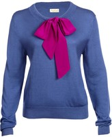 Asneh Helen Sweater with Silk Pussy-Bow
