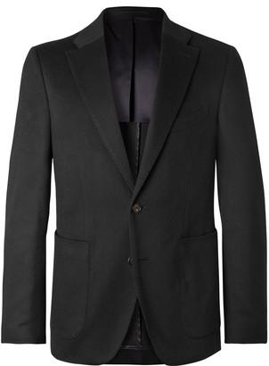 Salle Privée Black Lunt Slim-Fit Cashmere Blazer