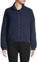 C&C California Faux Shearling Front-Zip Jacket