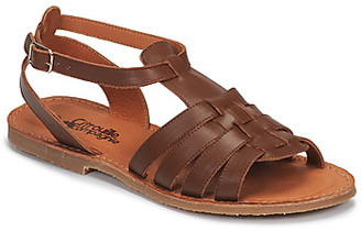 Citrouille et Compagnie MINIBOU girls's Sandals in Brown