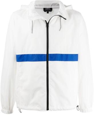 A.P.C. Concealed Pocket Zip Up Jacket