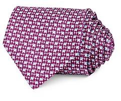 Salvatore Ferragamo Simba Silk Classic Necktie