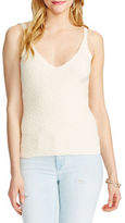 Jessica Simpson Roselle Ribbed Knit Crop Top