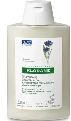 Klorane Shampoo Centaury For Grey/White Hair 200Ml