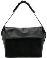 AllSaints Maya Shoulder Bag in Black.