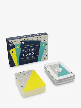 Ginger Fox Classic Geometric Playing Cards